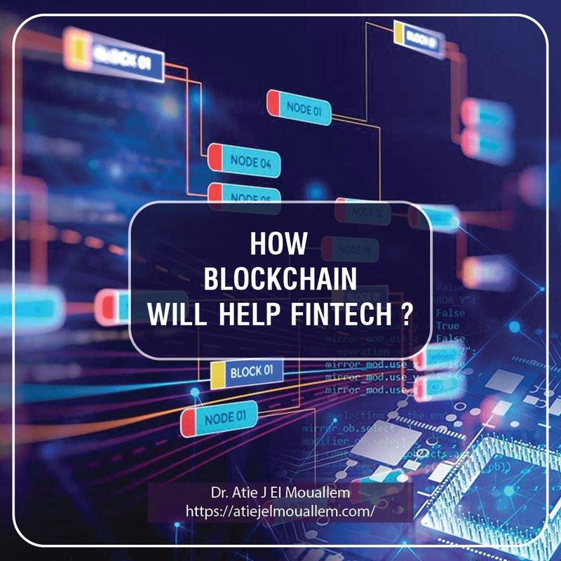How blockchain can help Fintech