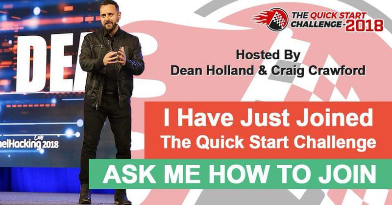 Dean Holland's Quick Start Challenge