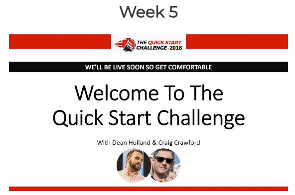 Quick Start Challenge Week 5