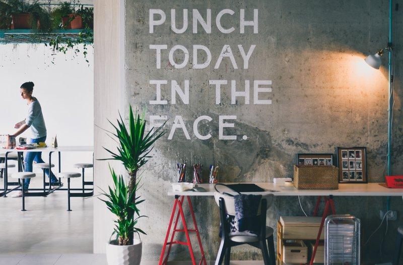 meer beweging op de werkvloer - motivational quote