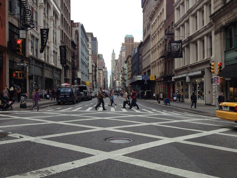 meer beweging op de werkvloer - wandelen door het stad