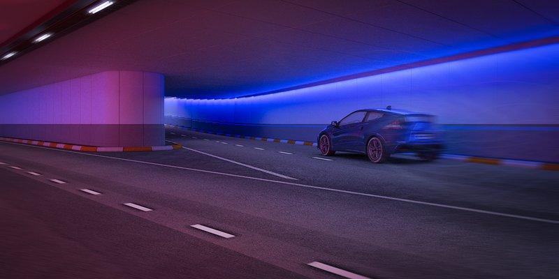 Leopold II Tunnel renovation Brussels