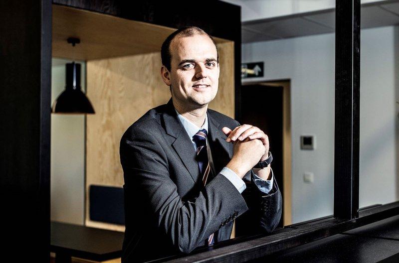 Maarten Verschuere, founder & CEO van Clever - foto door Startit @KBC