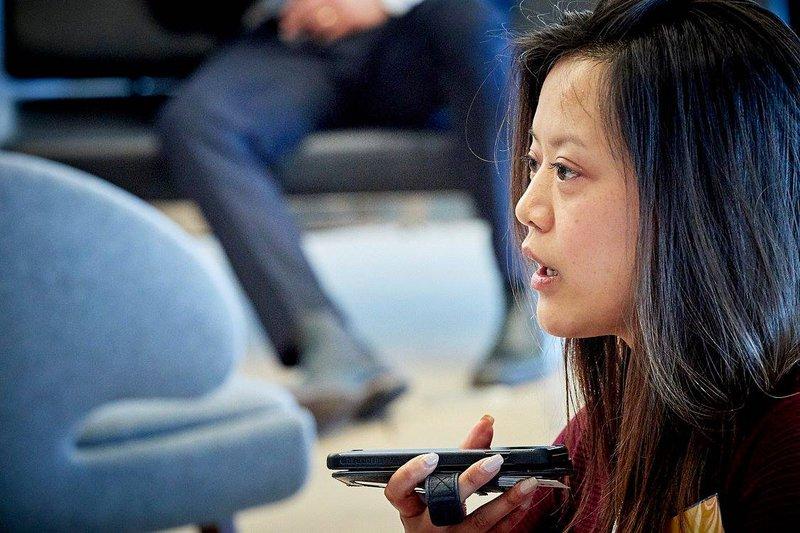 Joyce Liu. Bron: Startups.be