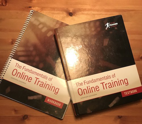 Online Trainer Academy Workbook and TextBook