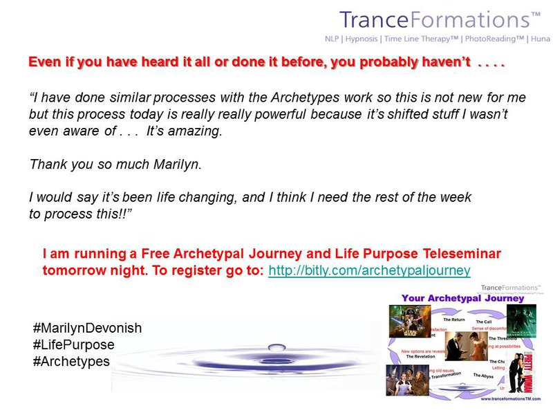 Book Your Archetypal Journey Profile Session