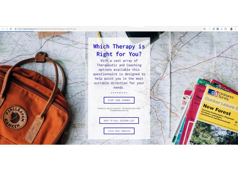 Take the Online Therapy Quiz
