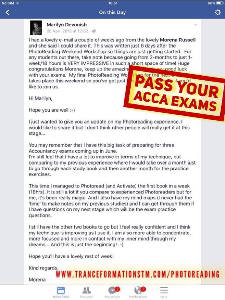 How to Pass Your ACCA Exams & Ace Job Interviews « Marilyn Devonish