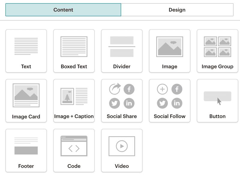 templates mailchimp