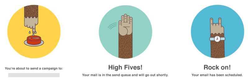 high five mailchimp
