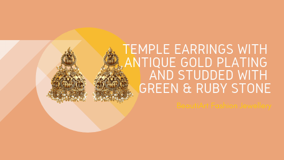 What is Temple Jewellery? – Beauti Art