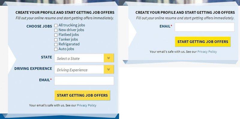 Optimal form design options