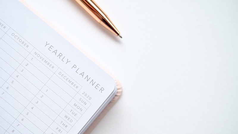 calendar, 2020 planning