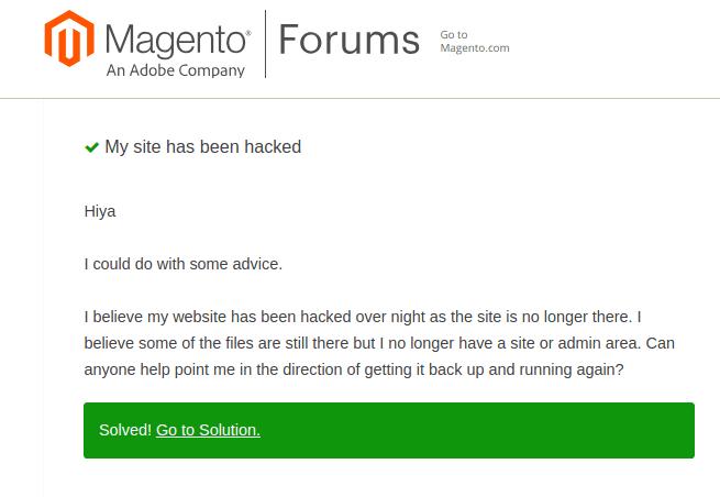 Magento admin hack example 2