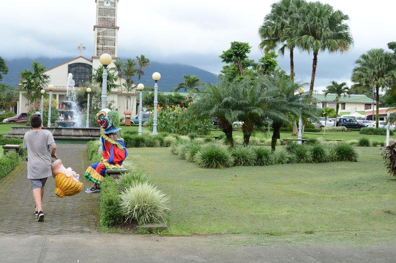 parc central à La Fortuna