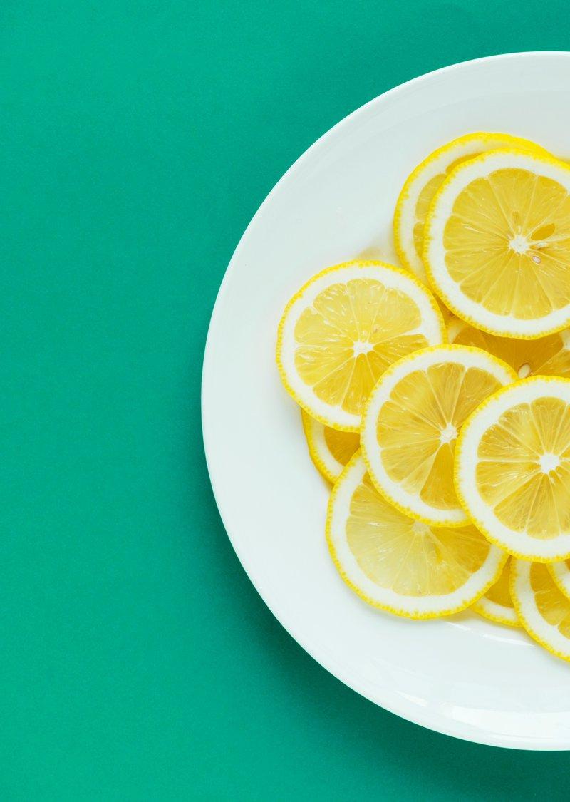citroen etherische olie als anti-rimpel olie