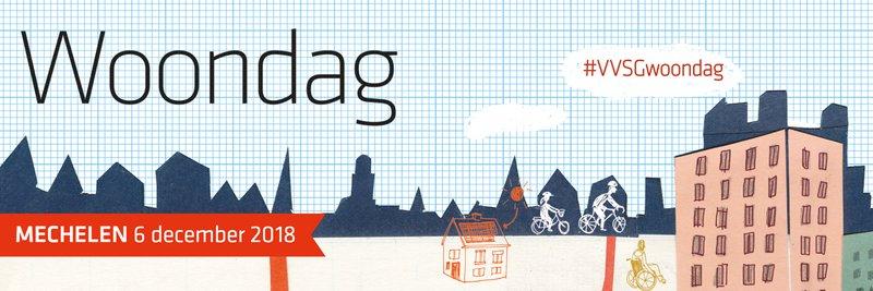 VVSG en Slim Wonen en Leven organiseren samen de Woondag op 6 december in Mechelen. Daar maak je kennis met tal van interessante sprekers, boeiende projecten en innoverende praktijken. Hiermee kan je vol enthousiasme en inspiratie aan de slag met de woonuitdagingen van vandaag en morgen.