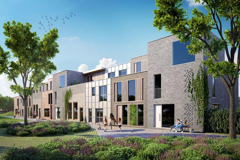 De vijf ontwerpen uit de architectenpool stralen kwaliteit en harmonie uit.