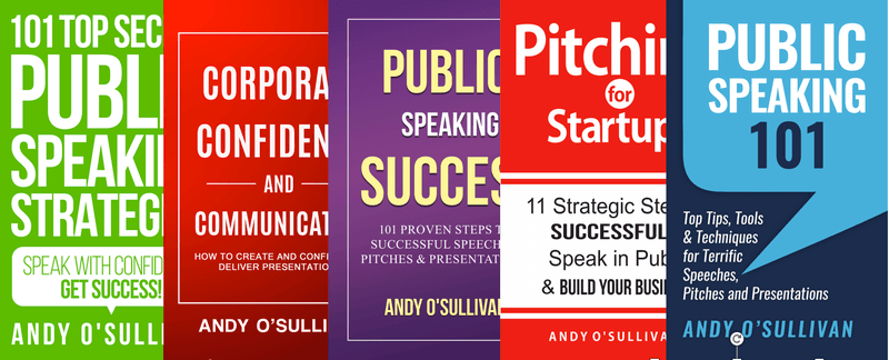 Andy O'Sullivan - Expert in Public Speaking & Presentation Skills