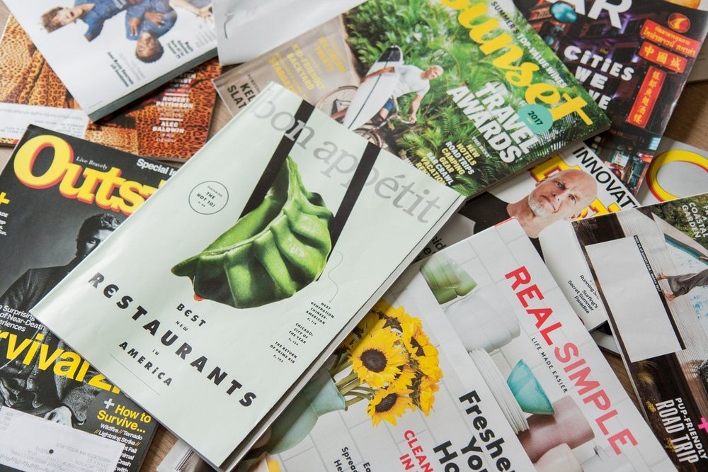 SaaS Landing page Magazines
