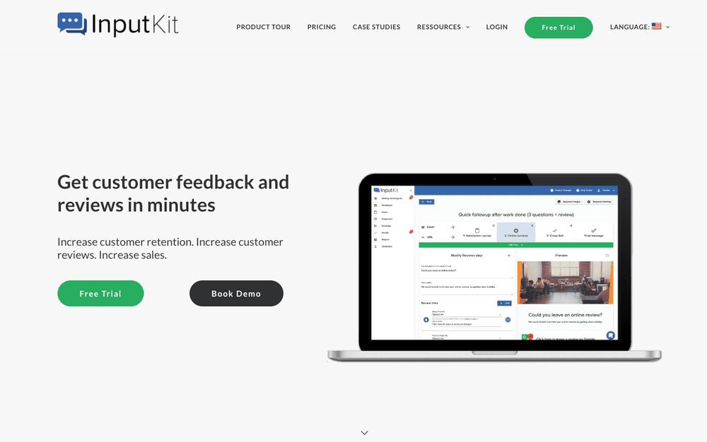 InputKit.io - Landing page