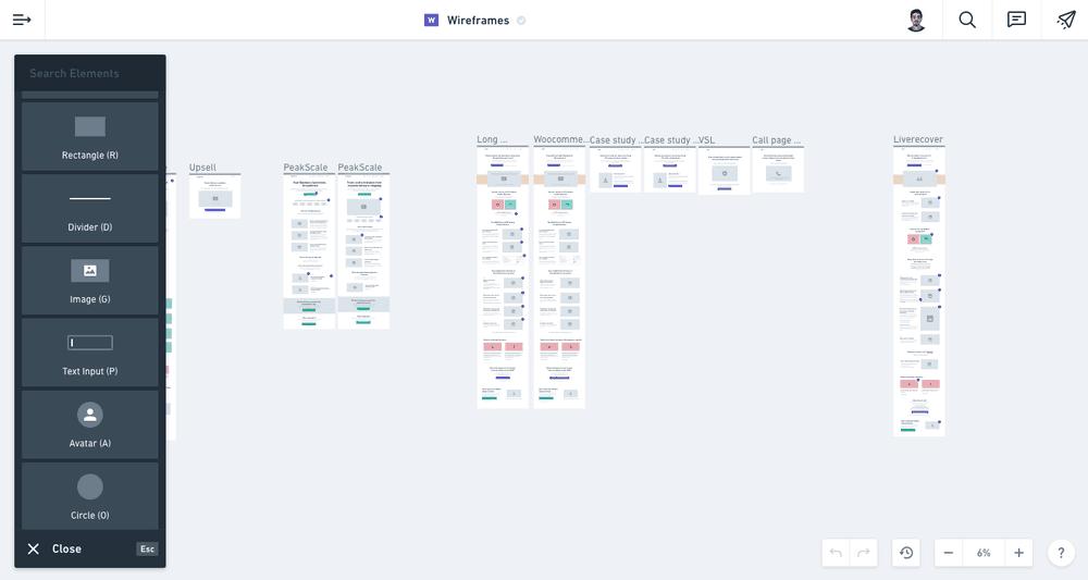 SaaS Landing page tool