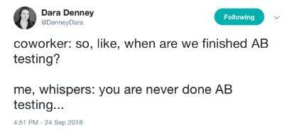 Dara Denney's tweet