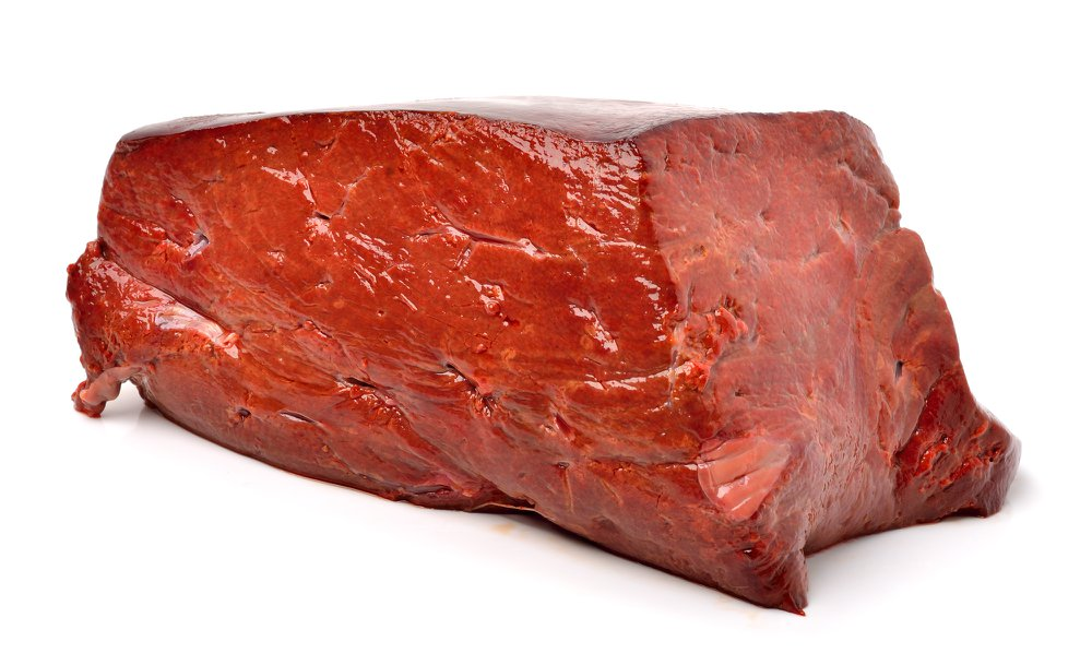 raw beef liver or offal from a healthy cow for Rawmate