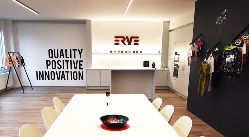 Erve Europe (Van der Erve NV) - New showroom licensed apparel near Brussels