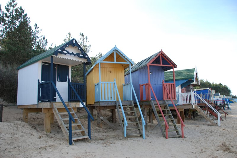 Wells Beach Huts on the Norfolk Coast