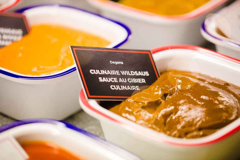 Culinaire wildsaus Degens