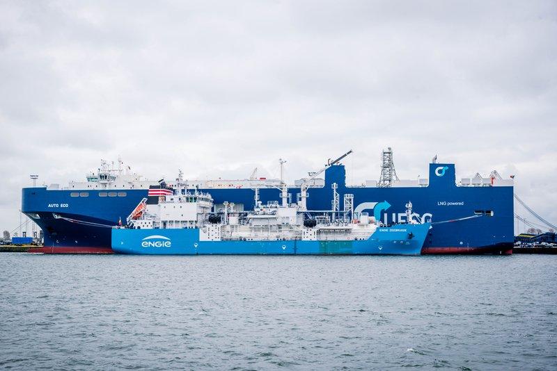 LNG bunker STS Engie Zeebrugge clean fuel