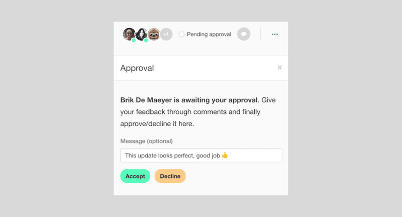 StoryChief improved your approval flow